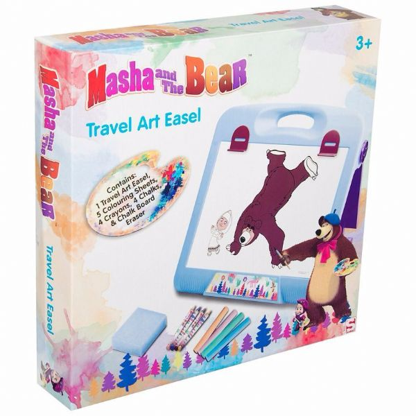Masha and the Bear Travel Art Easel